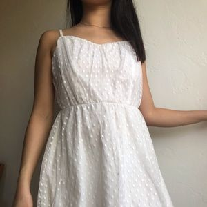 H&M White Spring Dress